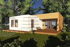 Case di legno prefabbricate romania case di legno grezzo for Mini case prefabbricate